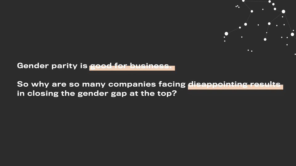 Why is gender inclusion good for business and so overlooked by organisations?