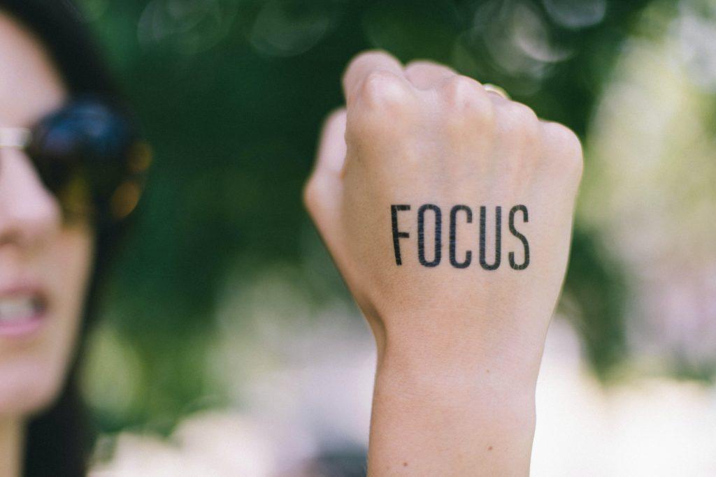 focusing on career growth